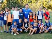 Dragan Primorac at CRO UNUM humanitarian soccer match