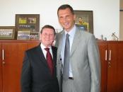 Dragan Primorac and Sir Dave RIchards