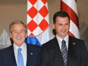 Dragan Primorac and George W. Bush