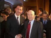 Dragan Primorac and John McCain