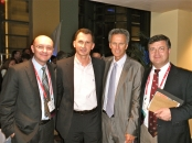 Professors Leonardo Kapural, Dragan Primorac, Richard Rauck and Kris Vissers