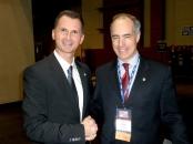 Dragan Primorac and Senator Robert P. Casey