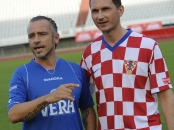 Dragan Primorac and Eros Ramazzotti