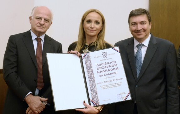 Prof. Dragan Primorac has been awarded The State Science Award