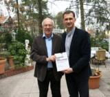Prof. Dragan Primorac with German Senator Ulf Fink in Berlin