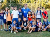 Dragan Primorac at CRO UNUM humanitarian soccer match