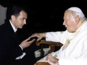 Dragan Primorac and Pope John Paul II.