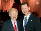 Dragan Primorac and Senator Joseph Lieberman