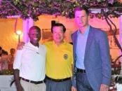 Michael Adewumi, Henry C. Lee and Dragan Primorac