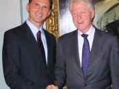 Dragan Primorac and Bill Clinton