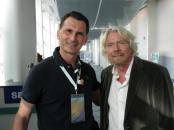 Dragan Primorac and RIchard Branson