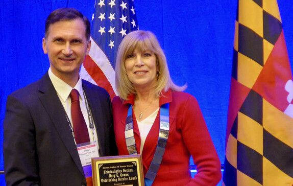 AMERICAN ACADEMY OF FORENSIC SCIENCES PRESENTS AWARD TO PROF. DRAGAN PRIMORAC