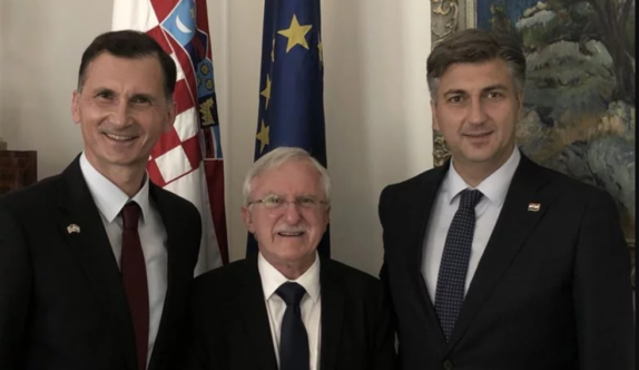 Plenkovic welcomed an American Nobel Prize winner of Croatian origin who is responsible for one of the most important discoveries in medicine history: This was Modrich's first visit to the homeland of his ancestors